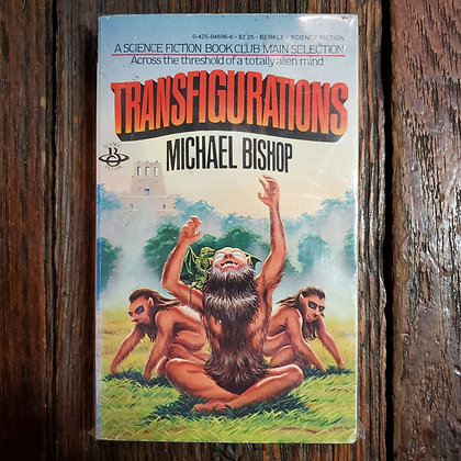 Bishop, Michael : TRANSFIGURATIONS - Rare Paperback Book