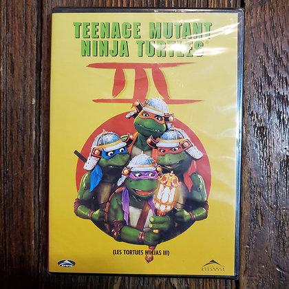 TEENAGE MUTANT NINJA TURTLES III DVD