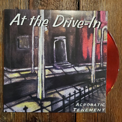 AT THE DRIVE IN : Acrobatic Tenement - Rare Red VINYL LP (No Trades)