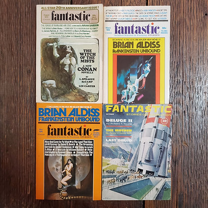 Fantasic Stories Sciencd Fiction 4 Pack (1961-1974)