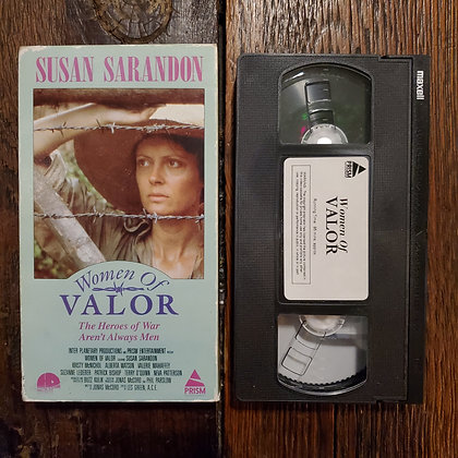 WOMEN OF VALOR - Rare VHS
