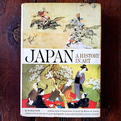 Smith, Bradley : JAPAN A HISTORY IN ART - Large 1964 Hardcover 1st Edition