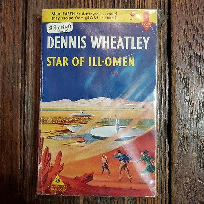 Wheatley, Dennis : STAR OF ILL OMEN - 1962 Reader Paperback
