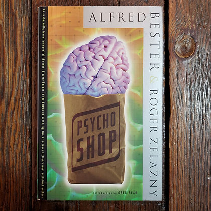 Bester & Zelazny : PSYCHO SHOP - Softcover Book