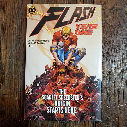 THE FLASH Year One - Hardcover Graphic Novel