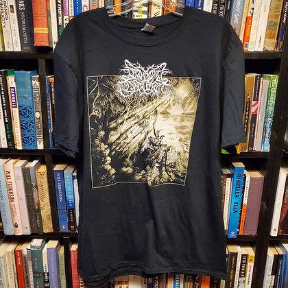 """LIMINAL SHROUD """"Through The False Narrows"""" - Large Shirt"""