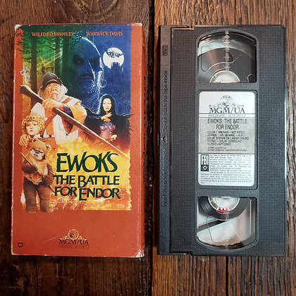 EWOKS The Battle For Endor - VHS