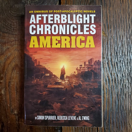 AFTERBLIGHT CHRONICLES AMERICA Omnibus of Post Apocalyptic Novels - Softcover