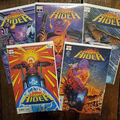 COSMIC GHOST RIDER - 5 Comic Book Set