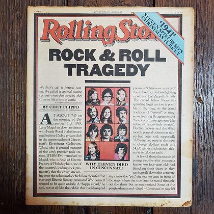 Vintage 1980 ROLLING STONE Magazine #309