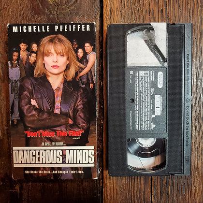 DANGEROUS MINDS - VHS