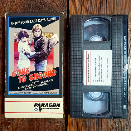 GONE TO THE GROUND - Rare Paragon VHS