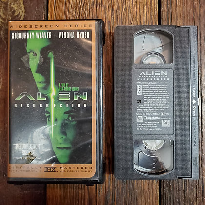 ALIEN RESURRECTION - VHS