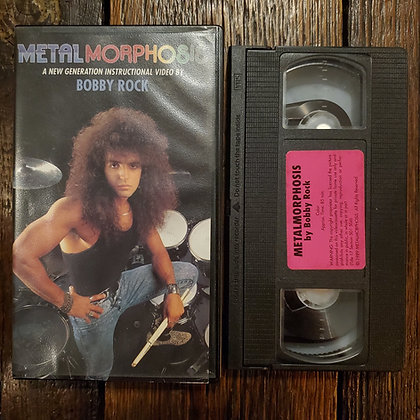 Bobby Rock's METAL MORPHOSIS - VHS
