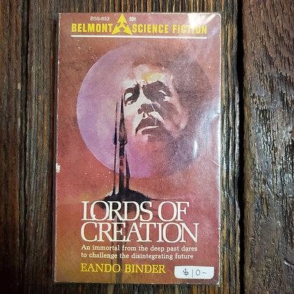 Binder, Eando : LORDS OF CREATION - Vintage Paperback