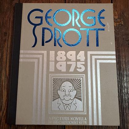 SETH - George Sprott 1894-1975 Comic Hardcover