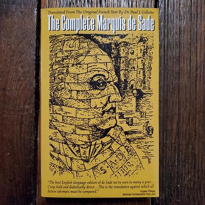 THE COMPLETE MARQUIS DE SADE - Softcover Book