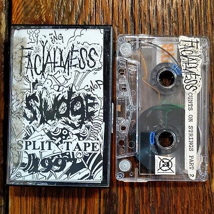 FACIALMESS // SLUDGE : Rare Split Tape 1997