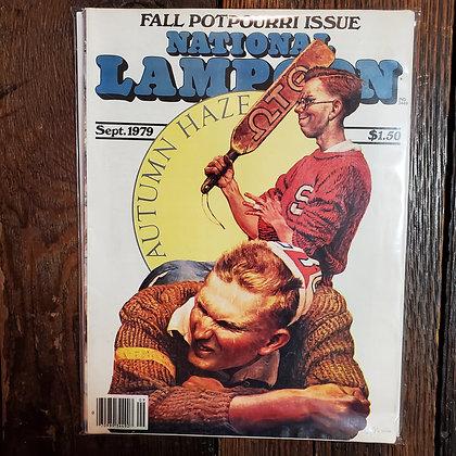 National Lampoon Magazine - September 1979