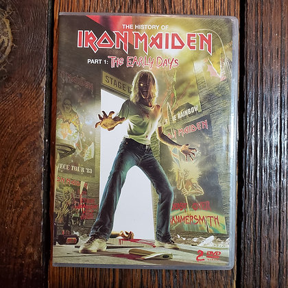 The History of IRON MAIDEN : The Early Days - 2 DVD