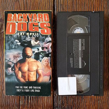 BACKYARD DOGS THE MOVIE - Rare VHS
