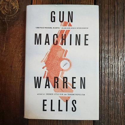 Ellis, Warren : GUN MACHINE - Hardcover Book