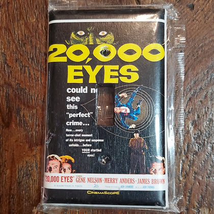 20,000 EYES - Light Switch Cover