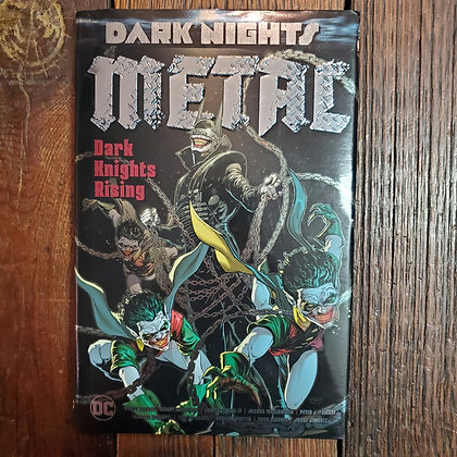 DARK NIGHTS METAL Dark Knights Rising - 2018 Hardcover Graphic Novel