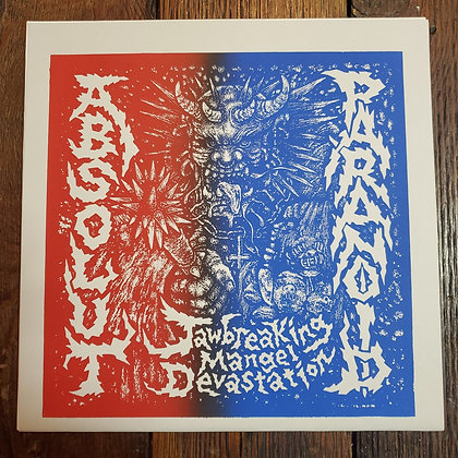 ABSOLUT // PARANOID : Jawbreaking Mangel Devastation LP (Ltd. 100 Copies)