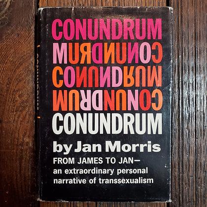 Morris, Jan - CONUNDRUM (1st Edition Hardcover)
