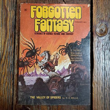 FORGOTTEN FANTASY : February 1971 HG Wells