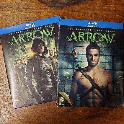 ARROW First & Second Seasons - Bluray 2 pack (8 discs)