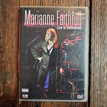 MARIANNE FAITHFULL Live in Hollywood DVD