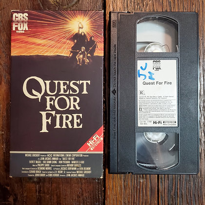 QUEST FOR FIRE - VHS