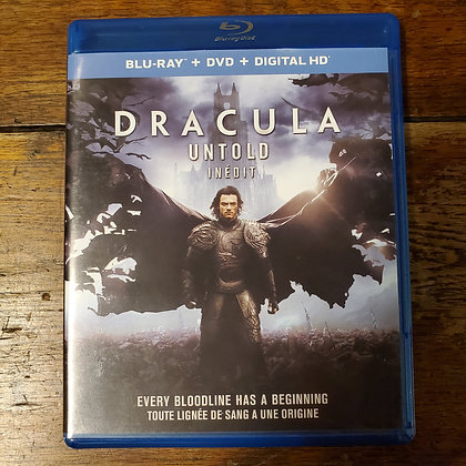 DRACULA UNTOLD - Bluray + DVD (2 discs)