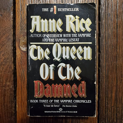 Rice, Anne : THE QUEEN OF THE DAMNED - Paperback