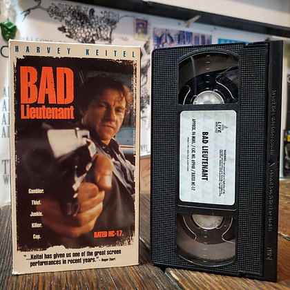 BAD LIEUTENANT - VHS