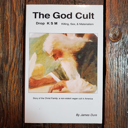 THE GOD CULT Killing, Sex & Materialism - Softcover