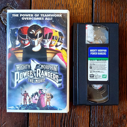 POWER RANGERS THE MOVIE - VHS