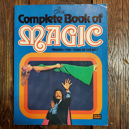 THE COMPLETE BOOK OF MAGIC - 1978 Softcover Book
