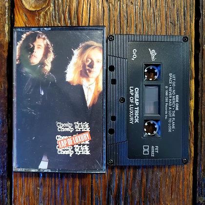 CHEAP TRICK : Lap of Luxury - Cassette Tape