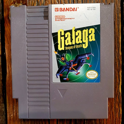 GALAGA Demons of Death - NES Game