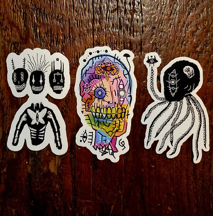 Sticker 3 Pack - Locally made by @yoangelos