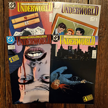 UNDERWORD - DC Comic Book 4 Pack Deal