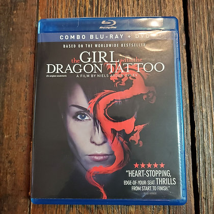 THE GIRL WITH THE DRAGON TATTOO Bluray