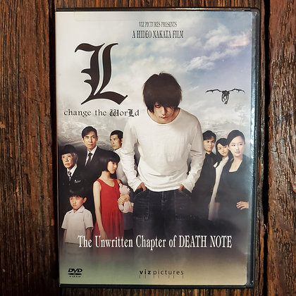 DEATH NOTE : L Change The World DVD