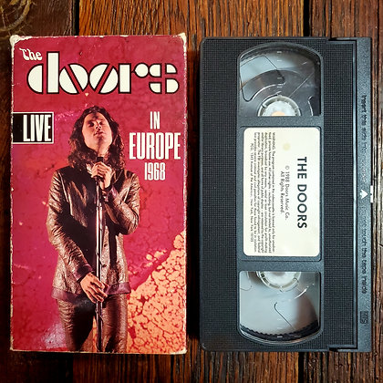 THE DOORS Live in Europe 1968 - VHS