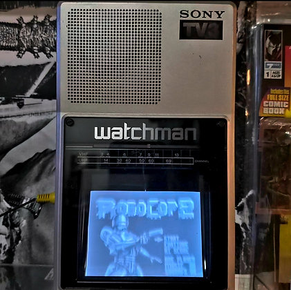 Vintage 1985 SONY WATCHMAN TV3 (A/V Input! minor antenna issue)