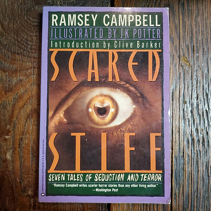 Campbell, Ramsey : SCARED STIFF - 1988 Softcover Book