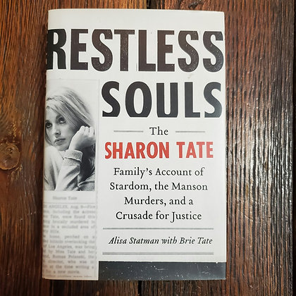 RESTLESS SOULS by Alisa Statman & Brie Tate - Hardcover Book